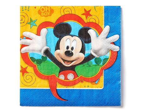 mickey mouse clubhouse lunch napkins 16 ct