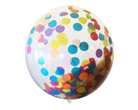 Big Dots Confetti Balloon