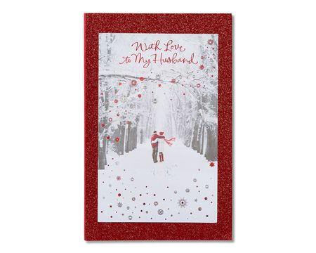 Romantic paper cards for him shop american greetings all my heart christmas card for husband m4hsunfo