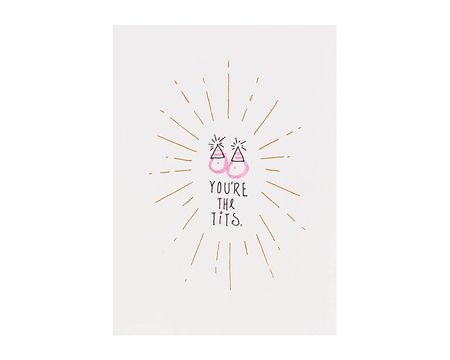You're The T Birthday Card