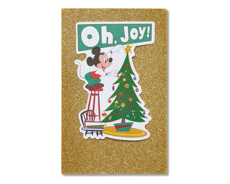 Paper greeting cards shop american greetings mickey mouse holiday card m4hsunfo