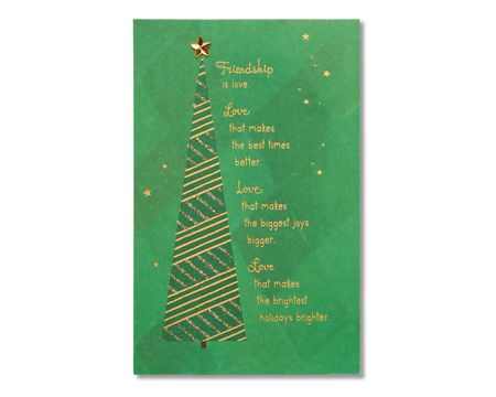 Heartfelt christmas paper cards shop american greetings friendship christmas card m4hsunfo