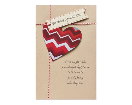 Paper valentines day greeting cards for anyone shop american greetings wonderful difference valentines day card m4hsunfo