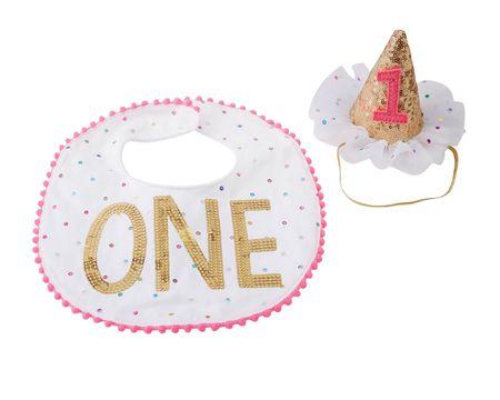 Mud Pie Baby Girl Smash Cake Set