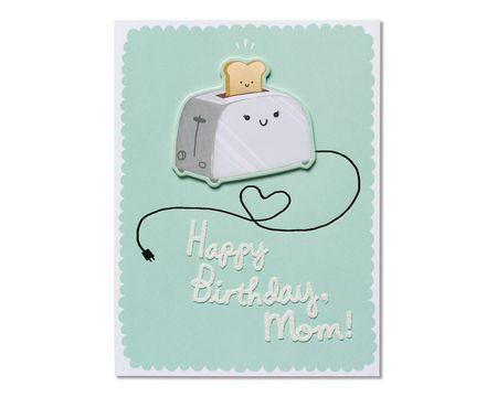 Toast Birthday Card