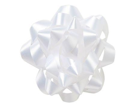 large white ribbon bow