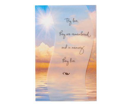By Love Sympathy Card