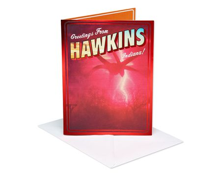 Stranger Things? Hawkins Birthday Card