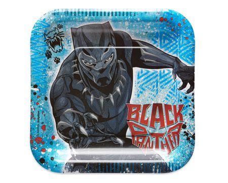 Black Panther Dessert Plates, 8-Count