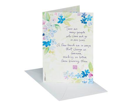 Happy Christmas Cream Florist Message Cards Gold Star x 50