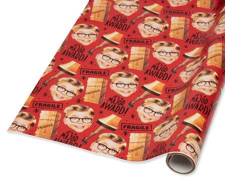 A Christmas Story Christmas Wrapping Paper, 40 Total Sq. Ft.