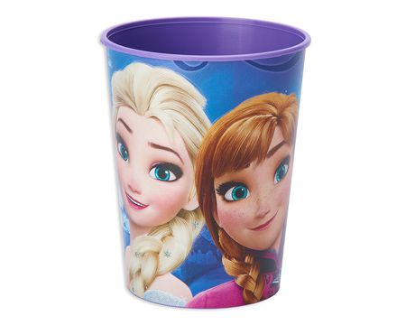 frozen magic plastic stadium cup