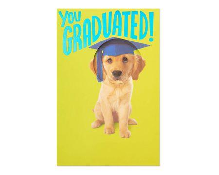 Puppy Graduation Card