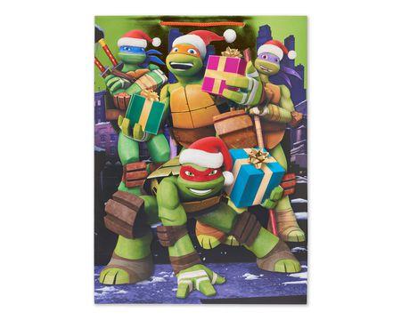 Gift bags american greetings teenage mutant ninja turtles jumbo christmas gift bag negle Image collections