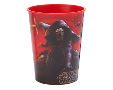 star wars: the force awakens plastic stadium cup 16 oz.