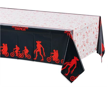 Stranger Things Plastic Table Cover, 54