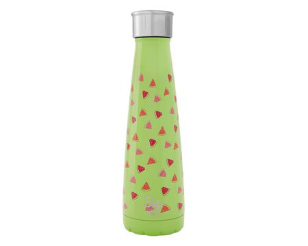 S'ip By S'well 15 Oz. Watermelon Cooler Stainless Steel Water Bottle