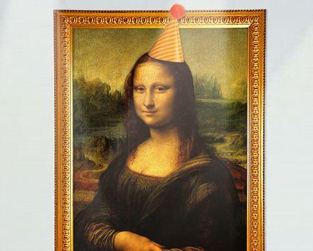 Talking Mona Lisa Ecard (Personalize)