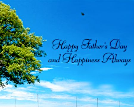 Repeated Words on Blue Awesome Fantastic Father/'s Day Card for Son