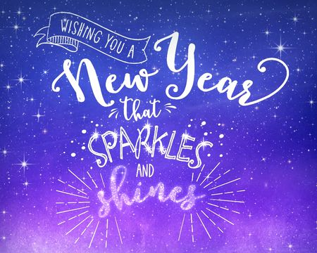 A Year That Sparkles and Shines (Famous Tune)