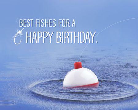 Best Fishes Birthday Ecard