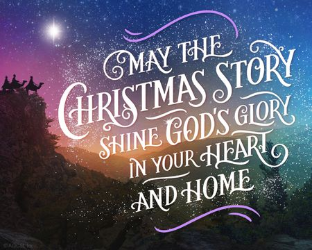 O Holy Night Christmas Ecard (Hymn)