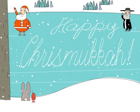 Happy Chrismukkah Ecard