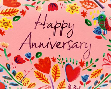 Sunshine and Happiness Anniversary Ecard
