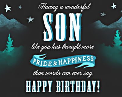 Terrific Birthday Ecards For Son American Greetings Personalised Birthday Cards Cominlily Jamesorg