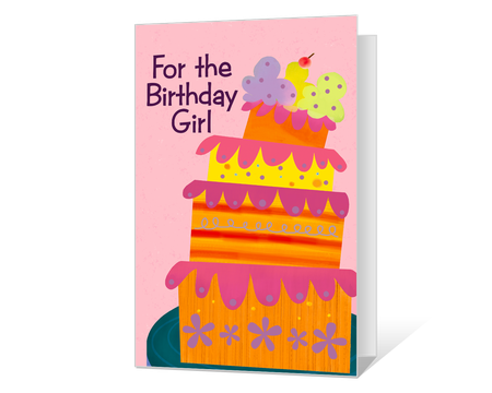 It's just a photo of Printable Birthday Cards for Kids in colour