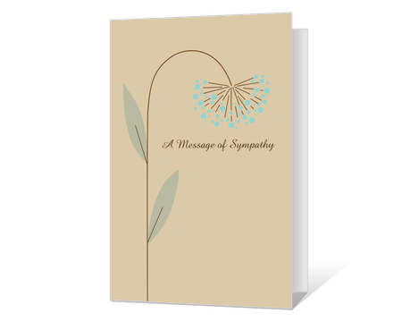 It is a picture of Sympathy Card Printable for vintage