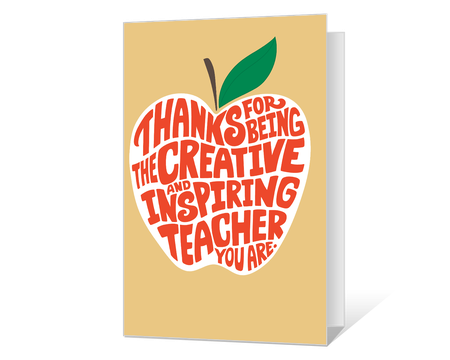 It's just a photo of Printable Cards for Teachers with regard to high school teacher appreciation