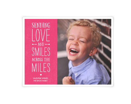 Smiles Across the Miles Printable (Add-a-Photo)