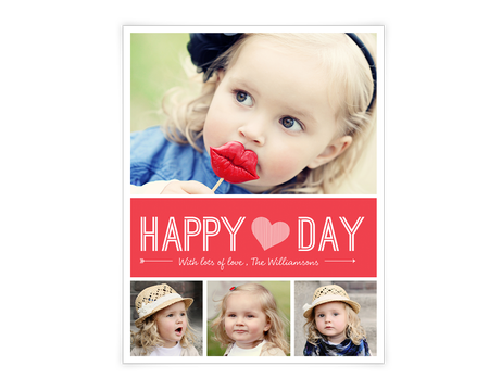 Happy Heart Day Printable (Add-a-Photo)