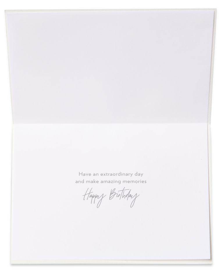 Bunny Slipper Girl Birthday Greeting Card for Granddaughter - Designed by Bella Pilar