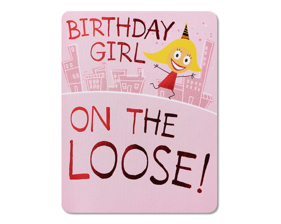 Birthday girl birthday card american greetings birthday girl birthday card bookmarktalkfo Choice Image