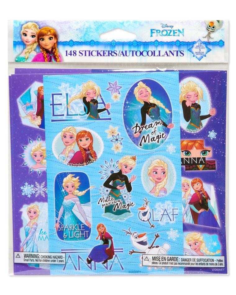 Disney Frozen Sticker Sheets, 148-Count