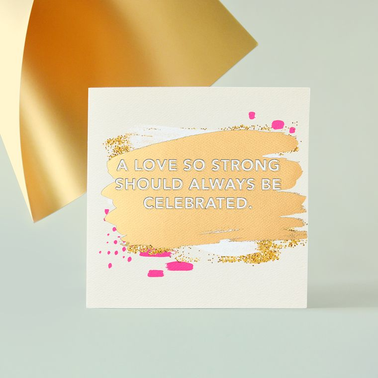 Love Anniversary Greeting Card