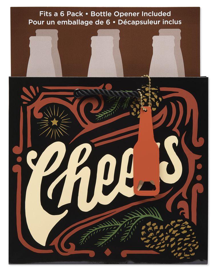 Holiday Cheers Beer Bag