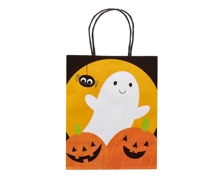 Ghost and Pumpkins Small Halloween Gift Bag