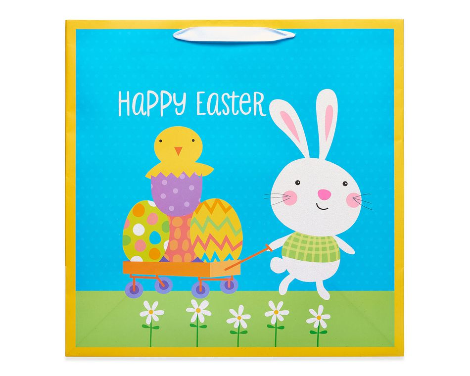 Extra large happy easter gift bag american greetings extra large happy easter gift bag negle Images