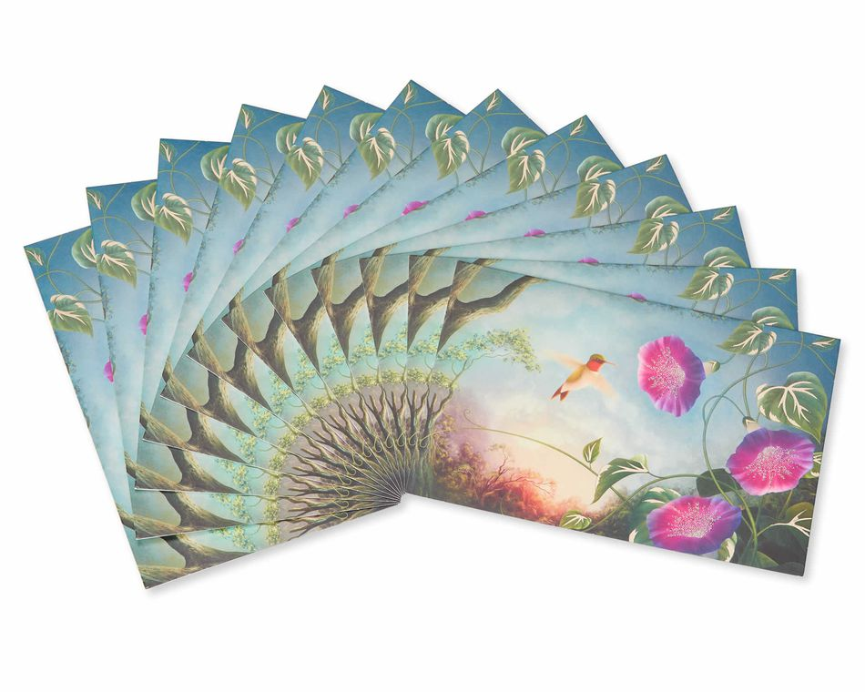 Jackie Lawson Hummingbird Note Cards