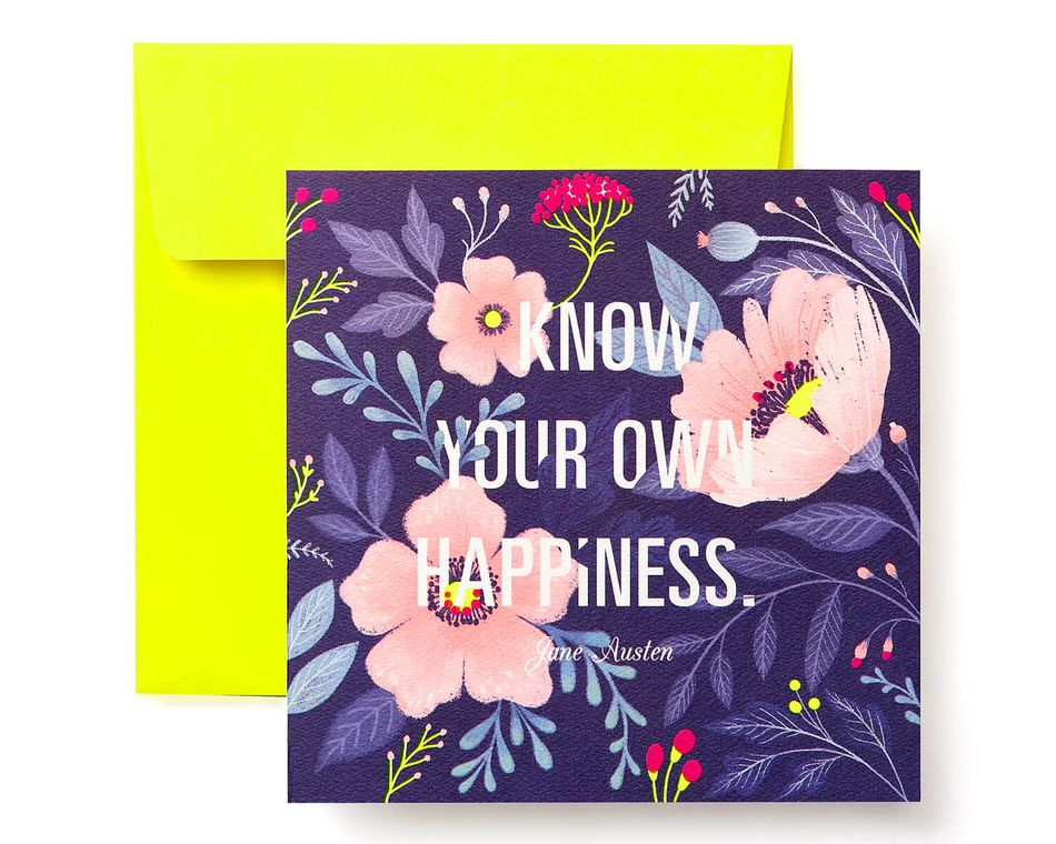 Floral Greeting Card for Her - Birthday, Thinking of You, Encouragement