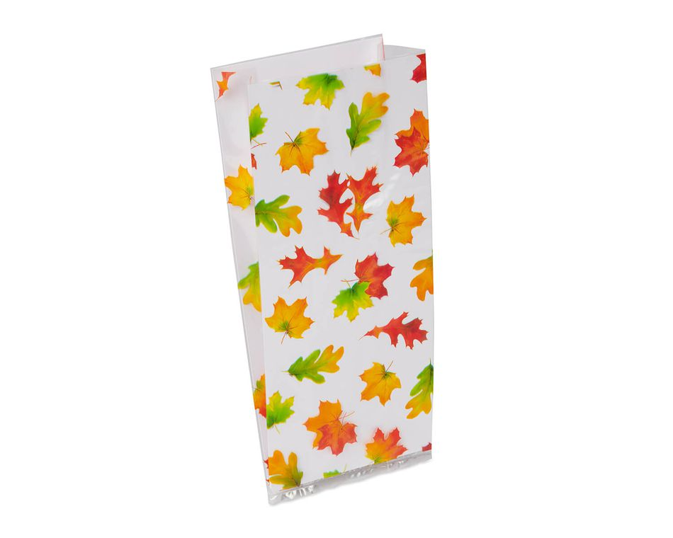 Harvest Leaves Treat Bags, 20-Count