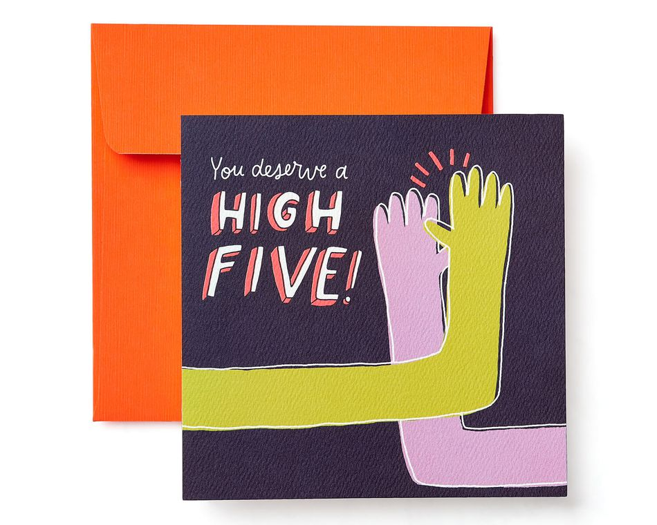 High five greeting card congratulations graduation new job high five greeting card congratulations graduation new job promotion encouragement m4hsunfo