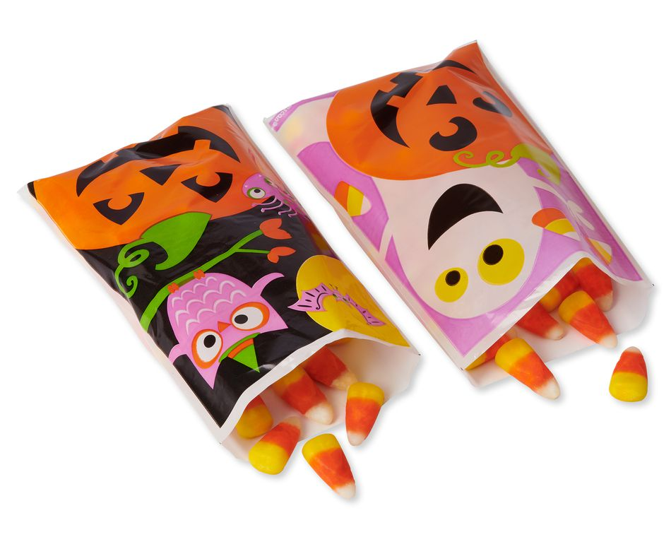 Halloween Friends Mini Treat Bags, 80-Count