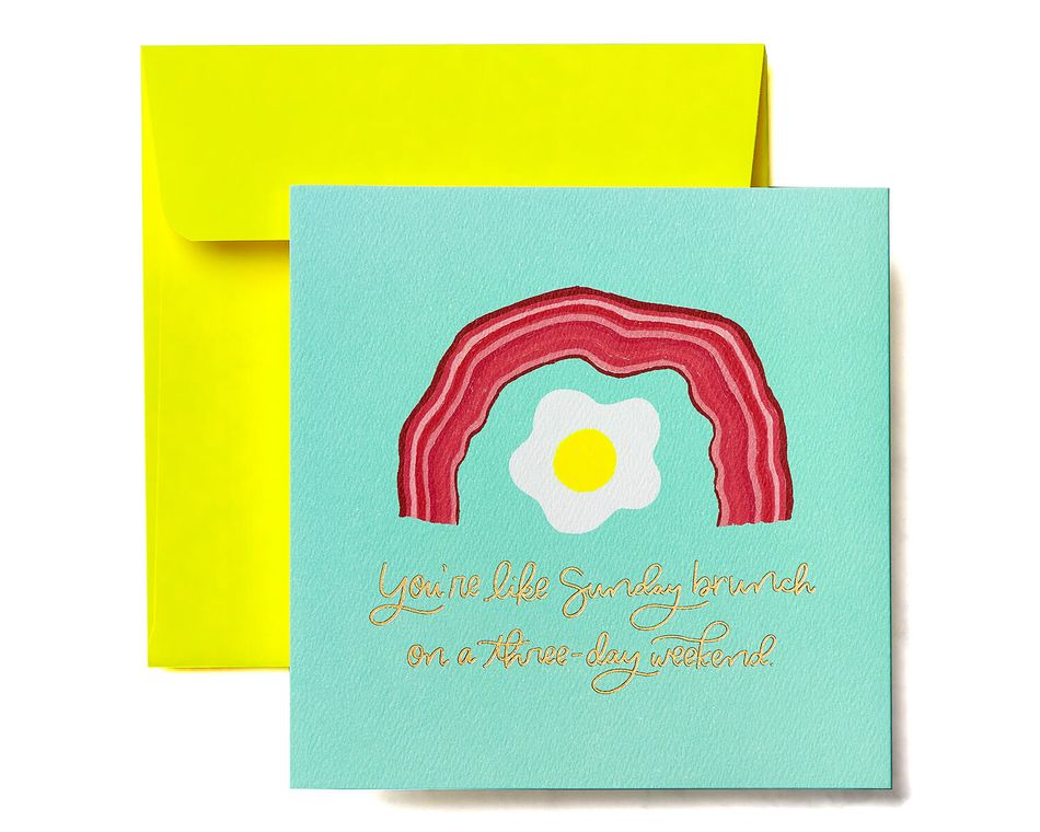 Brunch Greeting Card - Birthday, Thinking of You, Encouragement