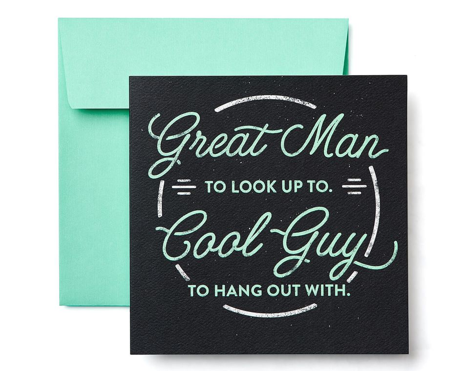 Great man birthday greeting card for him american greetings great man birthday greeting card for him m4hsunfo