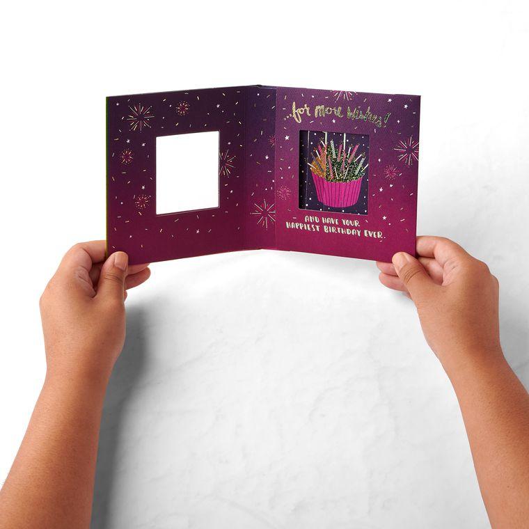 Cupcake Birthday Greeting Card