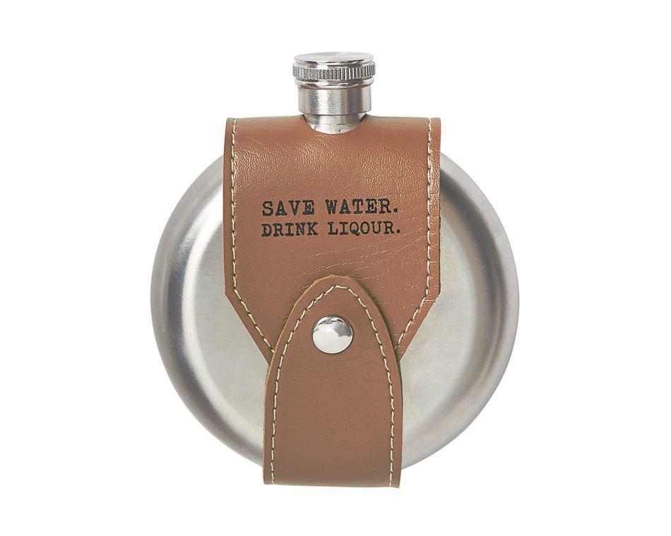 Mud Pie Save Water Flask
